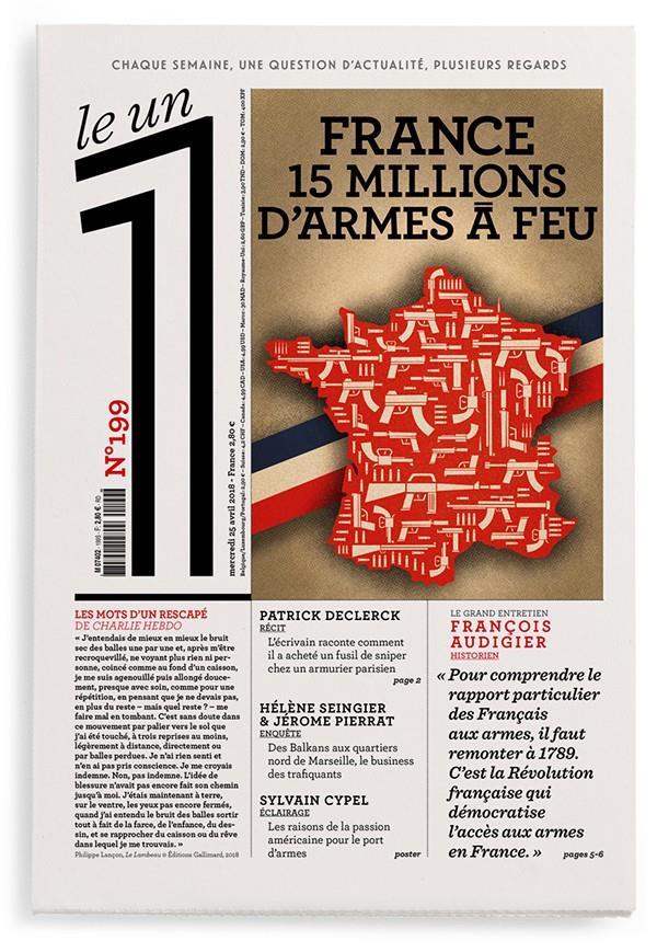 LE 1 NUMERO 199 FRANCE 15 MILLIONS D'ARMES A FEU