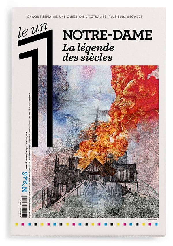 LE 1 NUMERO 246 NOTRE-DAME - LA LEGENDE DES SIECLES