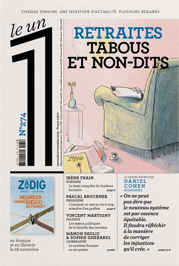 LE 1 N274 - RETRAITES TABOUS ET NON-DITS