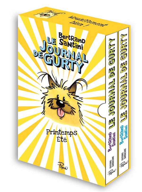 COFFRET 2V LE JOURNAL DE GURTY PRINTEMPS / ETE