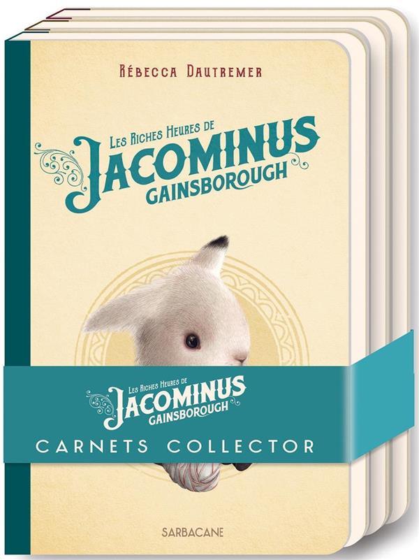LOT DE 3 CARNETS JACOMINUS COLLECTOR