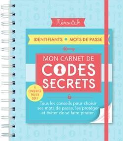 CARNET DE CODES SECRETS MEMONIAK 2019