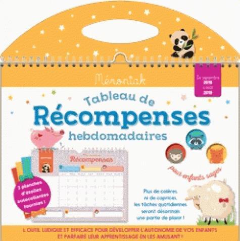 TABLEAU DE RECOMPENSES HEBDOMADAIRES MEMONIAK 2018-2019