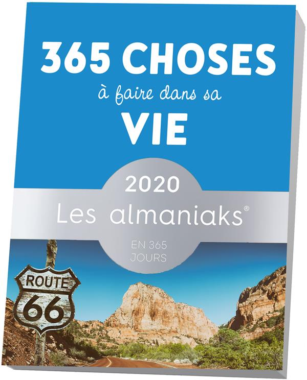 ALMANIAK 365 CHOSES A FAIRE DANS SA VIE 2020