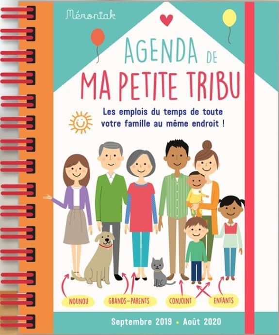 AGENDA DE MA PETITE TRIBU MEMONIAK 2019-2020