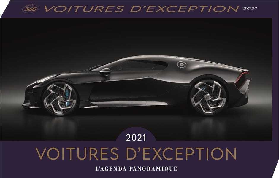 AGENDA PANORAMIQUE VOITURES D'EXCEPTION 2021