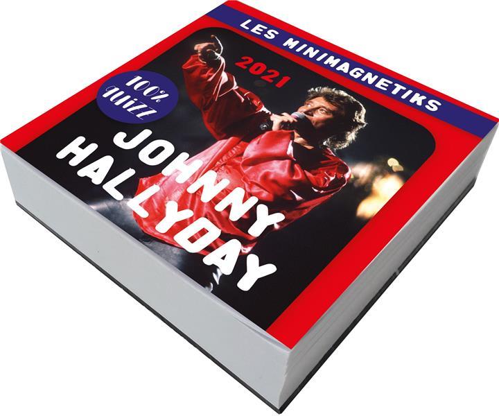 MINIMAGNETIK JOHNNY HALLYDAY 100 % QUIZ 2021