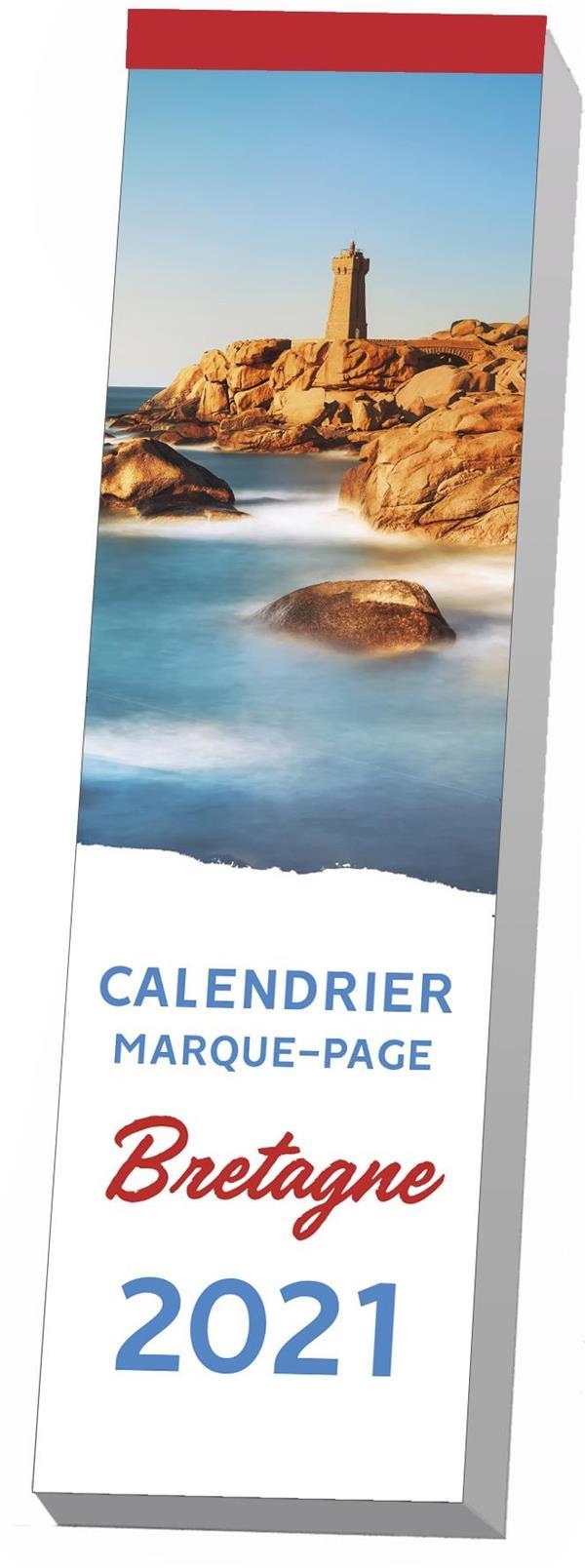 LE CALENDRIER MARQUE-PAGE BRETAGNE 2021