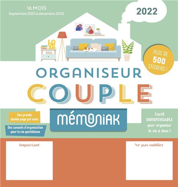 ORGANISEUR MEMONIAK SPECIAL COUPLE 2021-2022