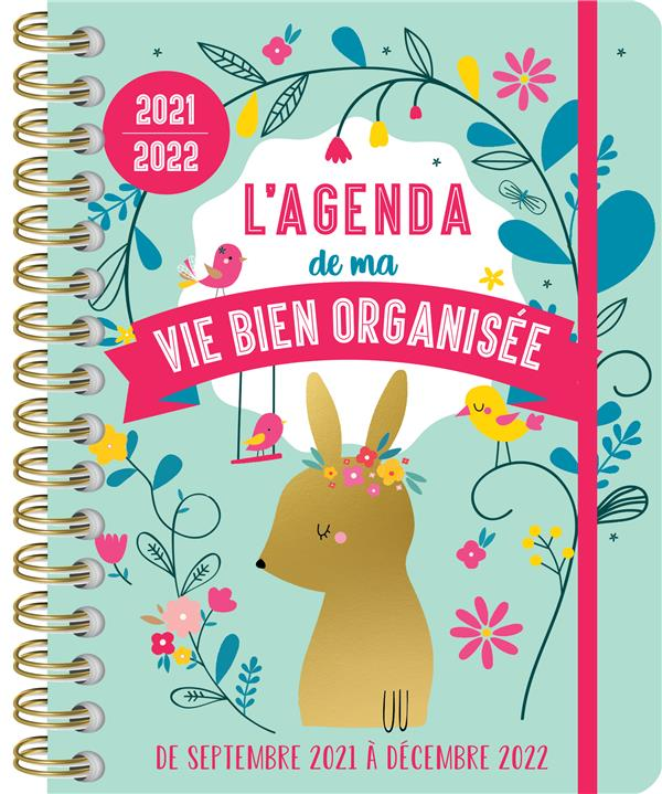 L AGENDA DE MA VIE BIEN ORGANISEE 2021-2022