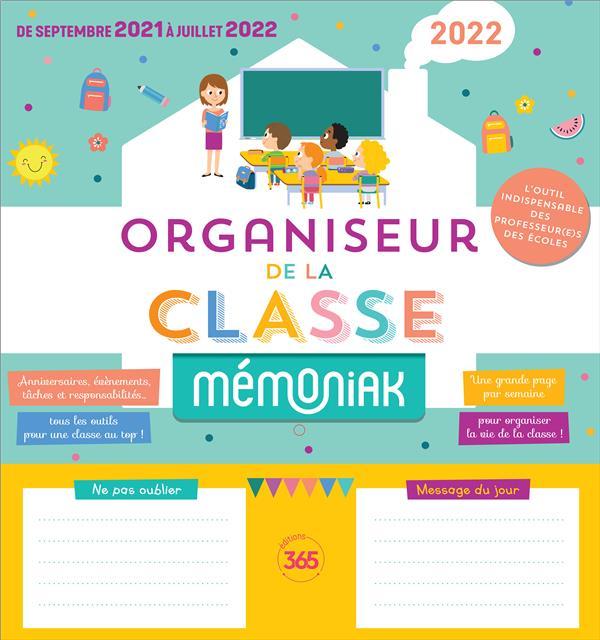 ORGANISEUR DE LA CLASSE MEMONIAK 2021-2022