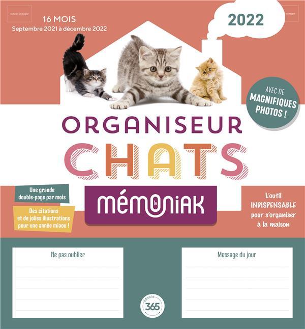 ORGANISEUR FAMILIAL MEMONIAK SPECIAL CHATS 2021-2022