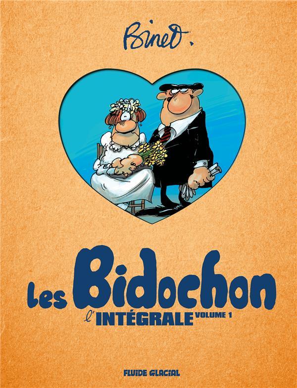 BINET & LES BIDOCHON - INTEGRALE VOLUME 01 - TOMES 01 A 04