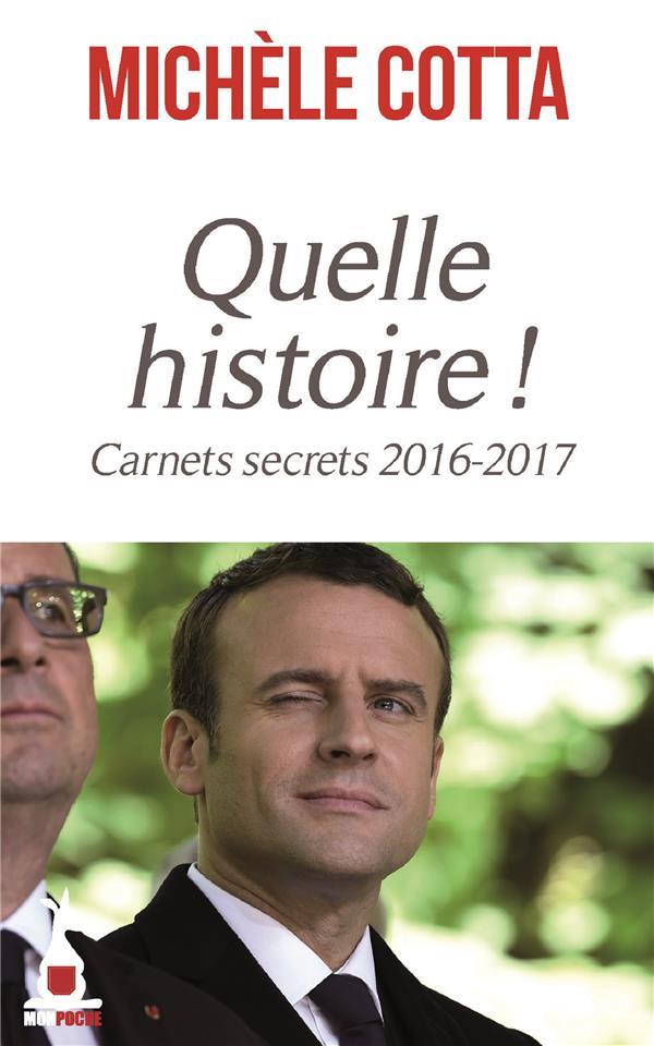 QUELLE HISTOIRE ! - CARNET SECRET 2016-2017