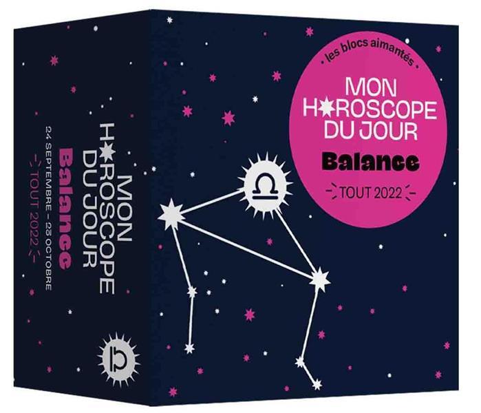 MON HOROSCOPE - TOUT 2022 - BALANCE