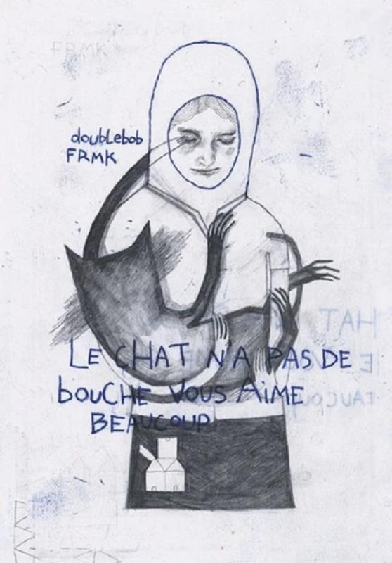 LE CHAT N'A PAS DE BOUCHE VOUS AIME BEAUCOUP