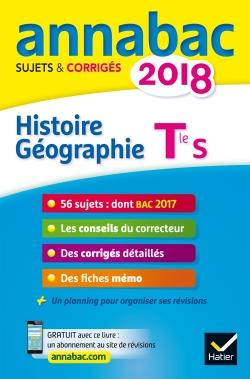 ANNALES ANNABAC 2018 HISTOIRE-GEOGRAPHIE TLE S