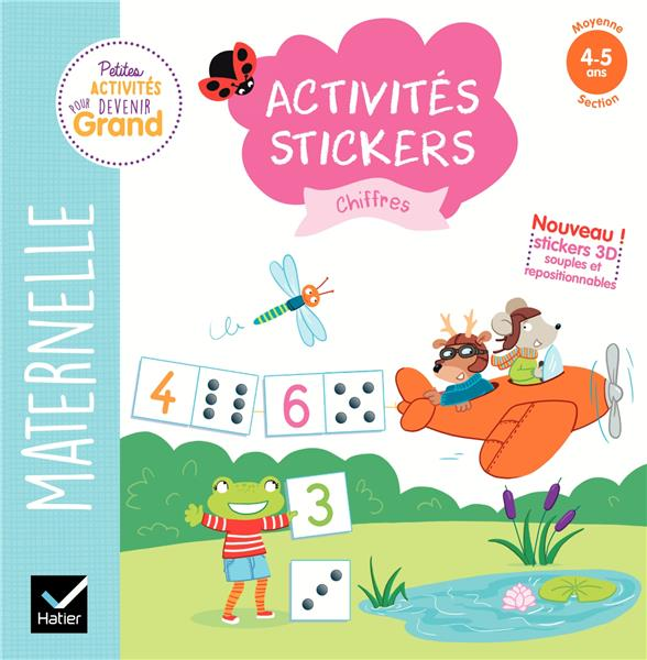 ACTIVITES STICKERS - CHIFFRES MOYENNE SECTION