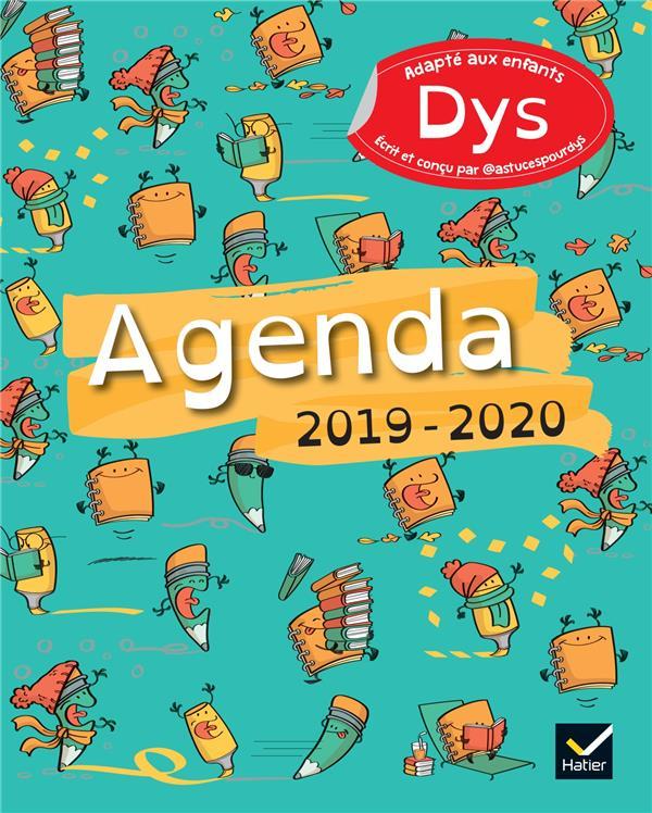 AGENDA 2019-2020 ADAPTE AUX ENFANTS DYS