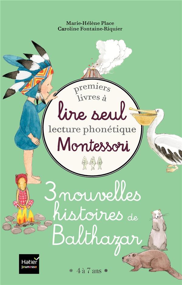 COFFRET PREMIERS LIVRES A LIRE SEUL 3 NOUVELLES HISTOIRES DE BALTHAZAR NIVEAU 3 PEDAGOGIE MONTESSORI