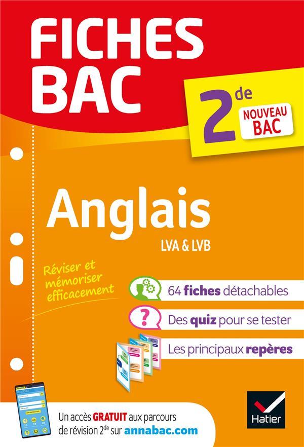 FICHES BAC ANGLAIS 2DE - NOUVEAU PROGRAMME DE SECONDE 2019-2020