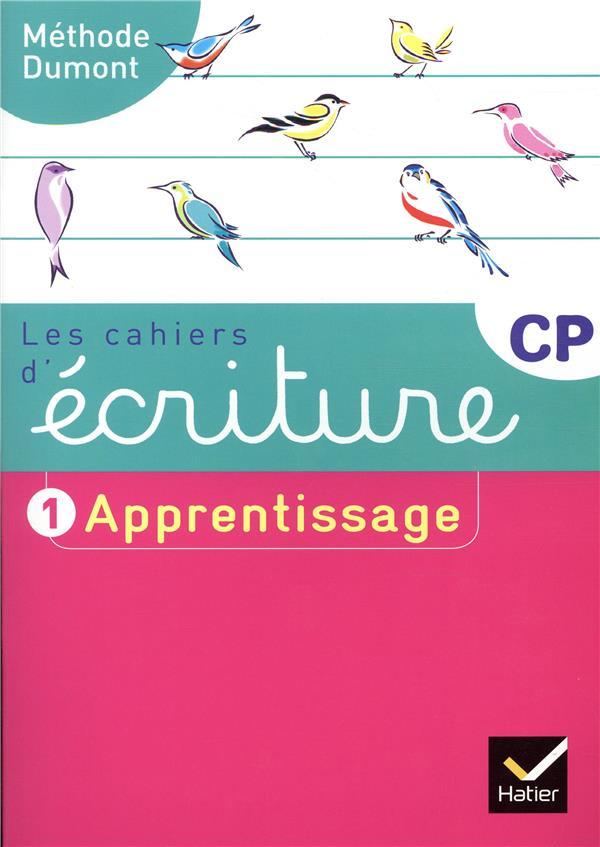 LES CAHIERS D'ECRITURE CP ED. 2019 - CAHIER N  1 APPRENTISSAGE