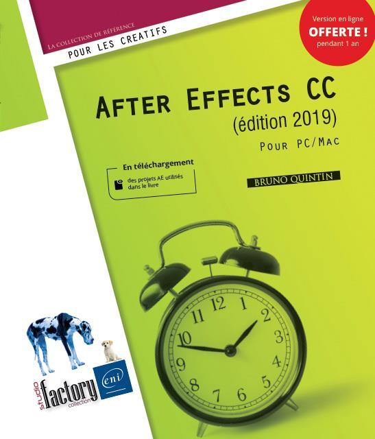 AFTER EFFECTS CC (EDITION 2019) - POUR PC/MAC
