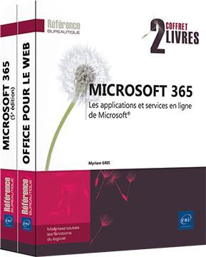 MICROSOFT 365 - COFFRET DE 2 LIVRES : LES APPLICATIONS ET SERVICES EN LIGNE DE MICROSOFT