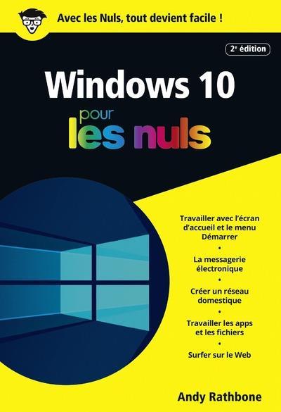 WINDOWS 10 POCHE POUR LES NULS, 2E
