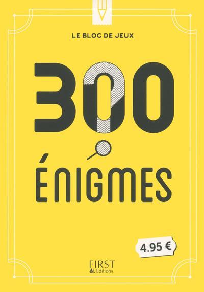 LE BLOC DE JEUX - 300 ENIGMES