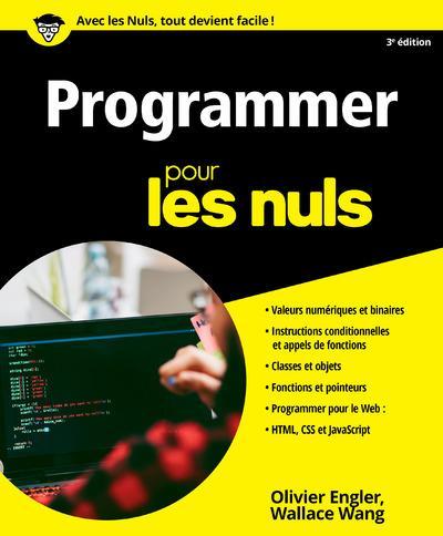 PROGRAMMER POUR LES NULS 3ED