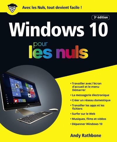 WINDOWS 10 POUR LES NULS 3ED