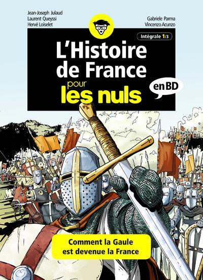 L'HISTOIRE DE FRANCE POUR LES NULS EN BD - INTEGRALE 1 A 3