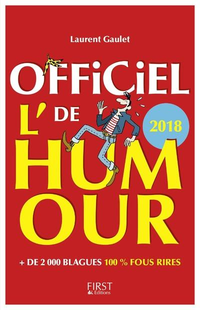 L'OFFICIEL DE L'HUMOUR 2018