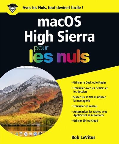 MACOS HIGH SIERRA POUR LES NULS