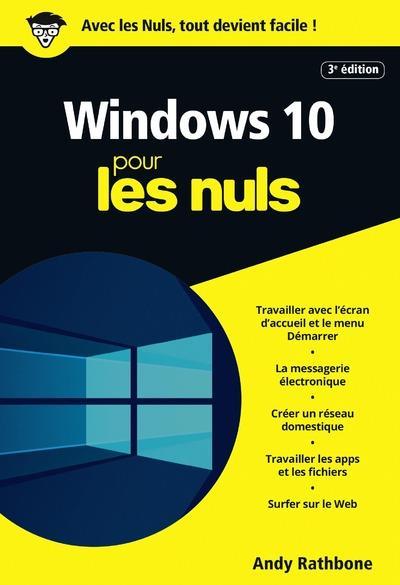 WINDOWS 10 POCHE POUR LES NULS - NOUVELLE EDITION