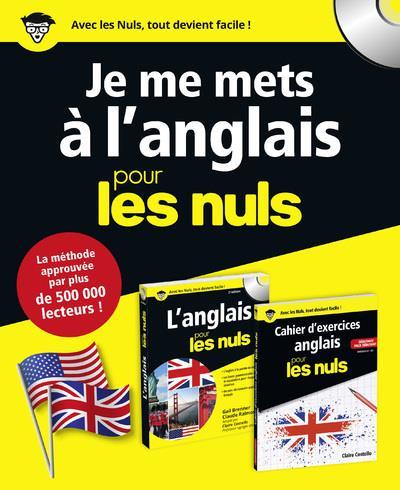 COFFRET - JE ME METS A L'ANGLAIS POUR LES NULS
