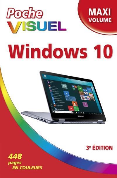 POCHE VISUEL WINDOWS 10 MAXI VOLUME 3E EDITION