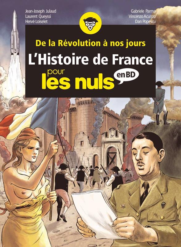 L'HISTOIRE DE FRANCE POUR LES NULS - BD INTEGRALE 3 - TOME 8 A 10