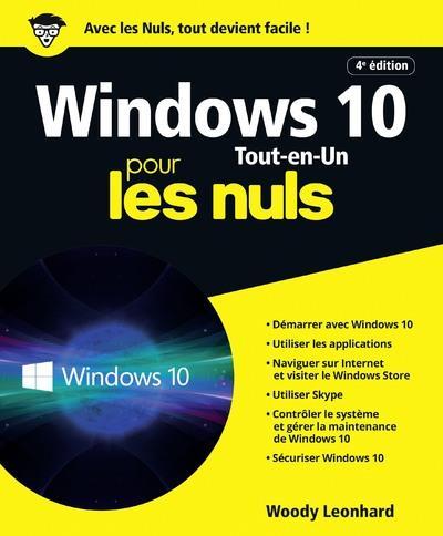 WINDOWS 10 TOUT-EN-1 POUR LES NULS, 4E ED