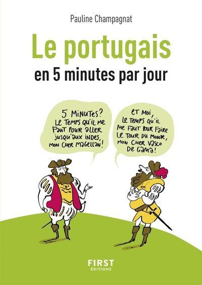 PETIT LIVRE DE - LE PORTUGAIS EN 5 MINUTES PAR JOUR