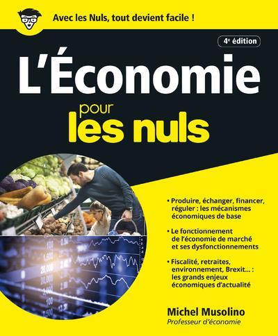 L'ECONOMIE POUR LES NULS, 4E EDITION