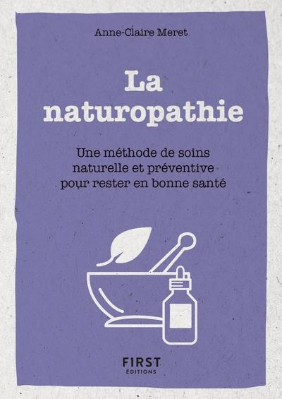 PETIT LIVRE DE - LA NATUROPATHIE