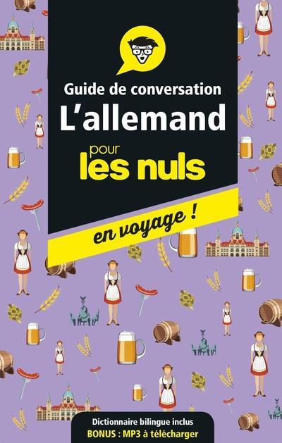 GUIDE DE CONVERSATION L'ALLEMAND POUR LES NULS EN VOYAGE !
