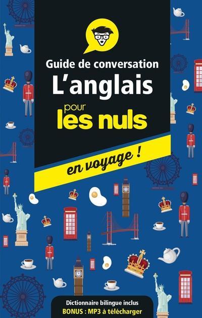 GUIDE DE CONVERSATION L'ANGLAIS POUR LES NULS EN VOYAGE !