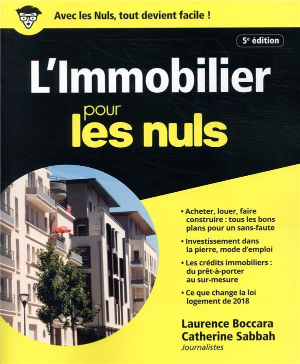 L'IMMOBILIER POUR LES NULS