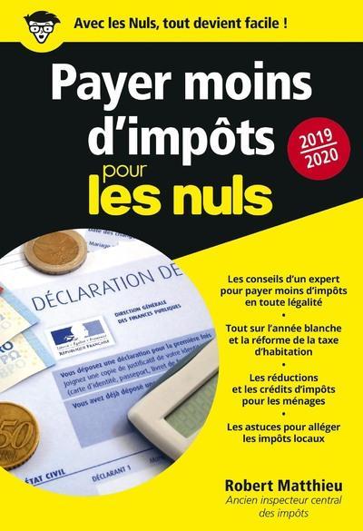 PAYER MOINS D'IMPOTS 2019-2020 POUR LES NULS POCHE
