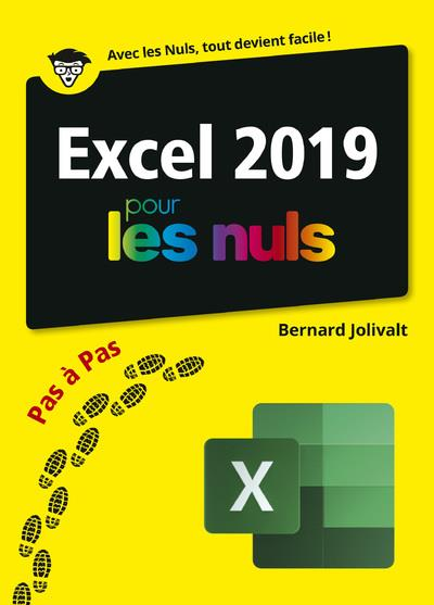 EXCEL 2019 POUR LES NULS PAS A PAS