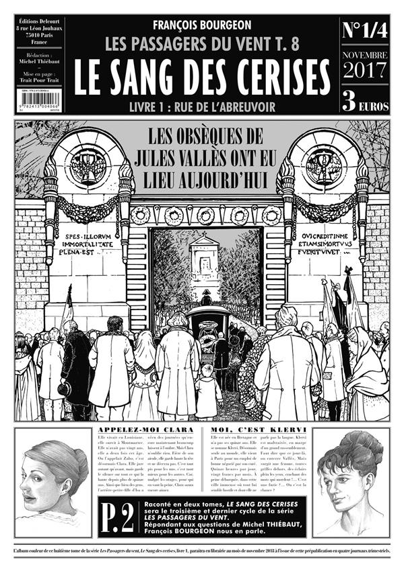 LES PASSAGERS DU VENT 08. LE SANG DES CERISES. JOURNAL 1/4