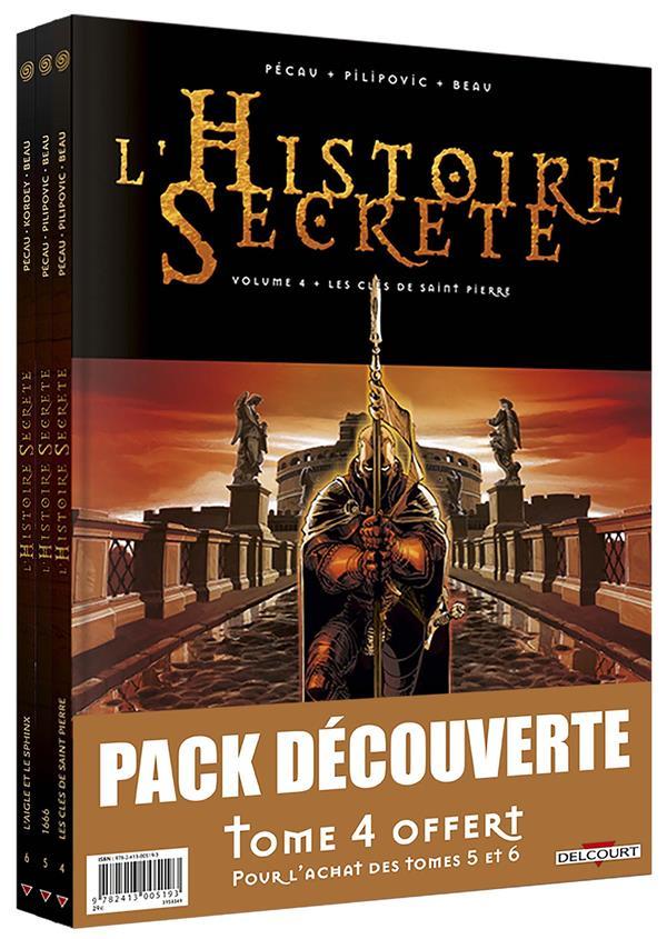 HISTOIRE SECRETE PACK T4 EDITION HC + T5 + T6